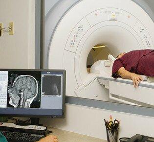 Что показывает МРТ головного мозга при шизофрении