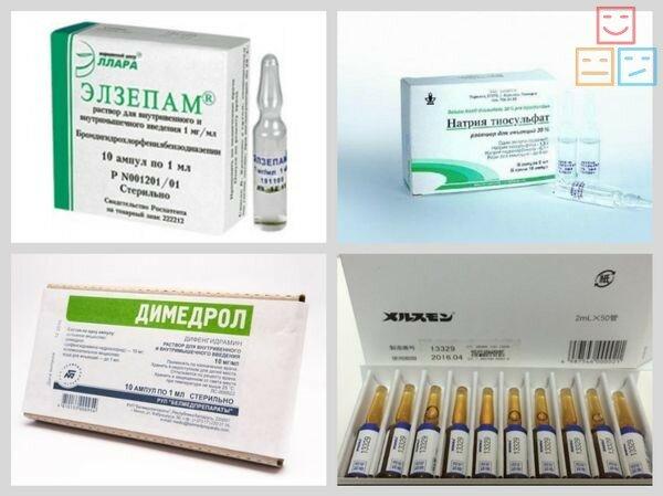 Обзор снотворных препаратов в ампулах