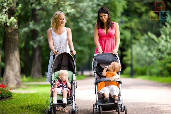 Прогулки на свежем воздухе с ребенком