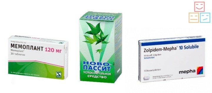 Препараты от бессоницы