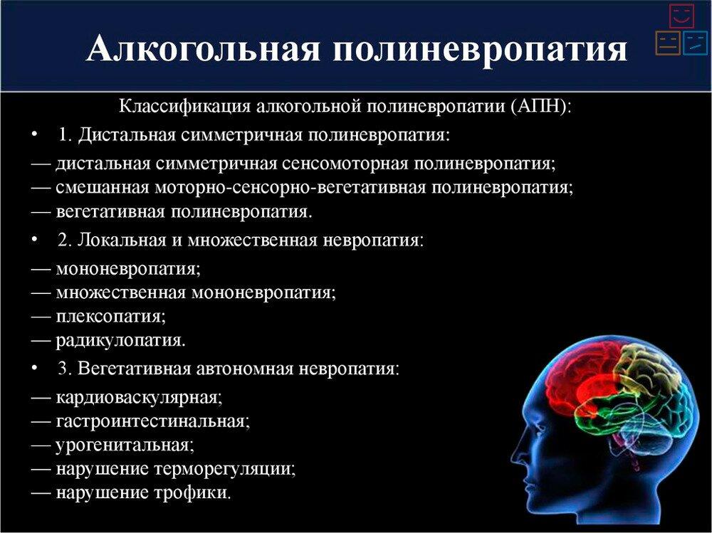 Симптомы алкогольного невроза